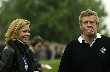 Eimear and Colin Montgomerie