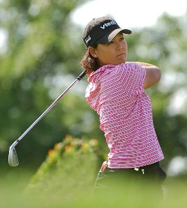 Kim Saiki  during the first round of the LPGA, Inaugural, Ginn Open on Thursday, April 27, 2006 at the Reunion Resort and Club in Reunion, FloridaPhoto by Marc Feldman/WireImage.com