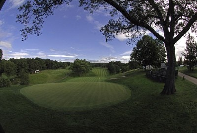 Scenic view of the 12th green before the third round of the Barclays Classic held at Westchester Country Club in Rye, New York on June 10, 2006.Photo by Al Messerschmidt/WireImage.com