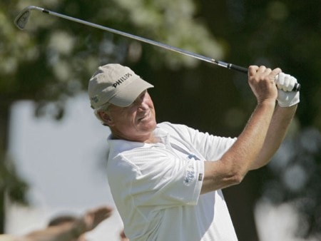 Howard Twitty in action during the second round of the 2005 3M Championship at the TPC of the Twin Cities in Blaine, Minnesota on August 6, 2005.Photo by Gregory Shamus/WireImage.com