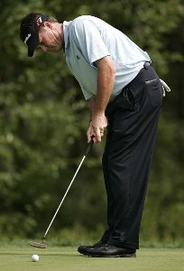 Todd Hamilton during the first round of the 2006 Deutsche Bank Championship held at TPC Boston in Norton, Massachusetts on September 1, 2006.Photo by Michael Cohen/WireImage.com