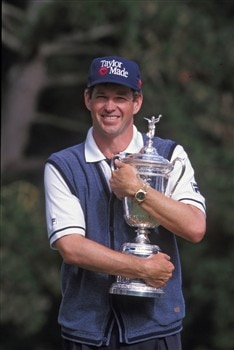 Lee Janzen at the 1998 U.S. Open at The Olympic Club, San Francisco, CA (Photo by PGA TOUR Photo Services/PGA)