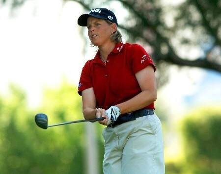 Wendy Ward in action during the final round of the 2005 LPGA Takefuji Classic at the Las Vegas Country Club in Las Vegas, Nevada, April 16, 2005.Photo by Steve Grayson/WireImage.com