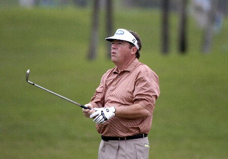 Joey Sindelar competes in first-round competition March 3, 2005  at the Ford Championship at Doral in Miami.