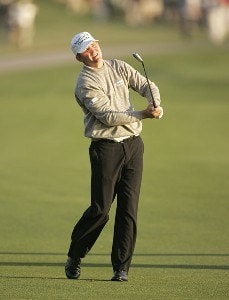 Jason Bohn during the second round of THE PLAYERS Championship held at the TPC Stadium Course in Ponte Vedra Beach, Florida on March 24, 2006.Photo by Sam Greenwood/WireImage.com
