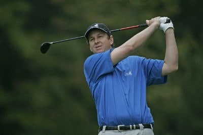 J.J. Henry during the third round of the 2006 Deutsche Bank Championship held at TPC Boston in Norton, Massachusetts on September 3, 2006.Photo by Michael Cohen/WireImage.com