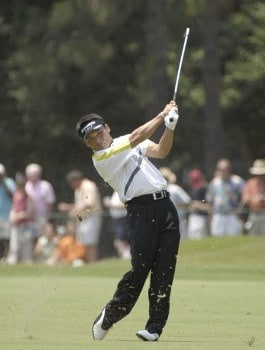 Shigeki Maruyama during the second round of the 2005 U.S. Open Golf Championship at Pinehurst Resort course 2 in Pinehurst, North Carolina on June 17, 2005.Photo by Marc Feldman/WireImage.com