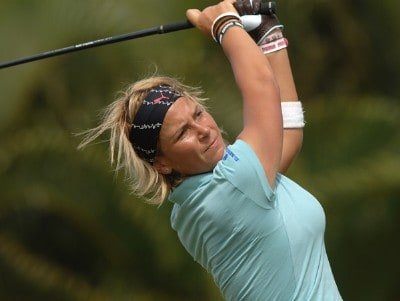 NIcole Perrot in action in the final round of the inaugural 2006 Fields Open in Hawaii at Ko Olina Golf Club in Kapolei, Hawaii February 25, 2006.Photo by Steve Grayson/WireImage.com