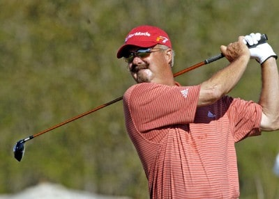 Gary McCord during the second round of the Champions Tour ACE Group Classic at The Club at TwinEagles on Saturday, February 18, 2006, in Naples, Florida.Photo by Grant Halverson/WireImage.com