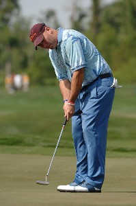 Duffy Waldorf during the second round of the Zurich Classic of New Orleans on Friday April 20, 2007 at the TPC Louisiana in Avondale, Louisiana PGA TOUR - 2007 Zurich Classic of New Orleans - Second RoundPhoto by Marc Feldman/WireImage.com