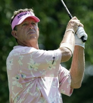 Dana Quigley in action during the final round of the the U. S. Senior Open, July 31,2005, held at the NCR Country Club, Kettering, Ohio.Photo by Stan Badz/PGA TOUR/WireImage.com