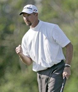 Cliff Kresge in action during the final round of the Chitimacha Louisiana Open at Le Triomphe Country Club in Broussard, Louisiana on Sunday, March 26, 2006.Photo by Drew Hallowell/WireImage.com