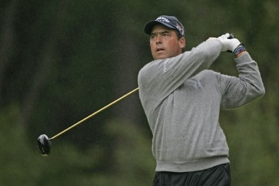 Olin Browne during the third round of the 2006 Deutsche Bank Championship held at TPC Boston in Norton, Massachusetts on September 3, 2006.Photo by Michael Cohen/WireImage.com
