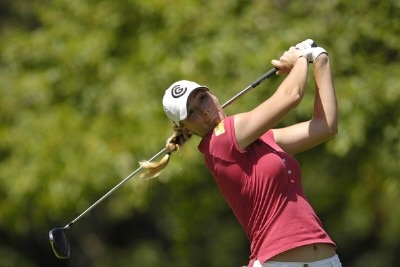 Catherine Cartwright during the first round of the Jamie Farr Owens Corning Classic at Highland Meadows Golf Club in Sylvania, Ohio, on July 13, 2006.Photo by Steve Levin/WireImage.com