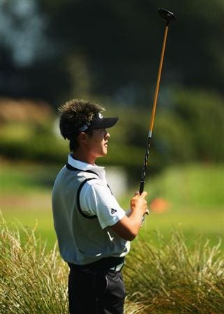 CHRISTCHURCH, NEW ZEALAND - MARCH 04:  Danny Lee of New Zealand plays an approach shot on the 14th fairway during the New Zealand PGA Championship Pro-Am at the Clearwater Golf Club March 04, 2009 in Christchurch, New Zealand.  (Photo by Phil Walter/Getty Images)