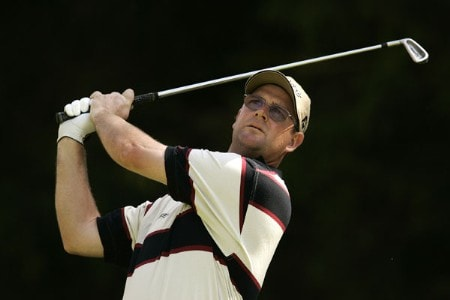Stuart Little during the third round of the 2005 Omega European Masters at the Crans-sur-Sierre Golf Club . September 3, 2005Photo by Pete Fontaine/WireImage.com
