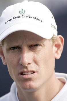 Maarten LaFeber during the third round of the 2005 KLM Open at Hilversumsche Golf Club in the Netherlands on June 11, 2005.Photo by Pete Fontaine/WireImage.com