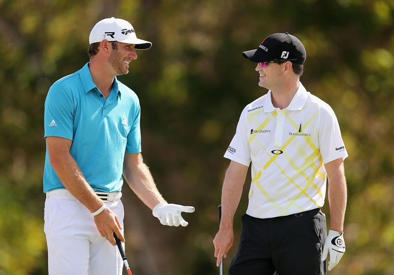 Dustin Johnson and Zach Johnson