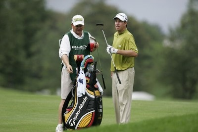 Todd Fischer during the first round of the Buick Open at Warwick Hills Golf and Country Club in Grand Blanc, Michigan on August 3, 2006.Photo by Michael Cohen/WireImage.com
