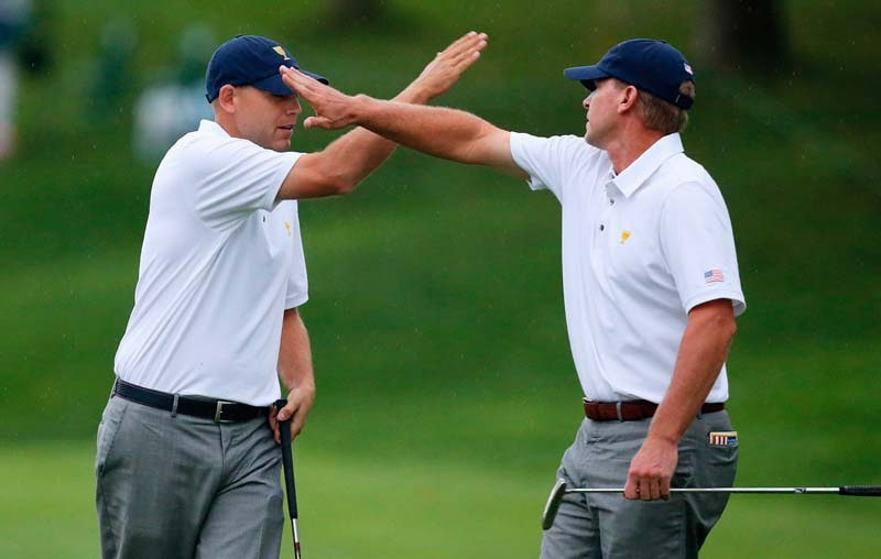 Steve Stricker and Bill Haas