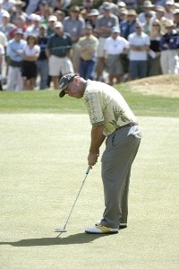 Duffy Waldorf in action during the third round of the 2006 Chrysler Classic of Tucson on Saturday, February 25, 2006 at the Omni Tucson National Golf Resort and Spa in Tucson, ArizonaPhoto by Marc Feldman/WireImage.com