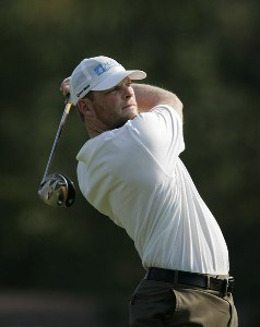 James Driscoll during the first round of the Chrysler Classic of Greensboro at Forest Oaks Country Club in Greensboro, North Carolina on October 5, 2006. PGA TOUR - 2006 Chrysler Classic of Greensboro - First RoundPhoto by Michael Cohen/WireImage.com