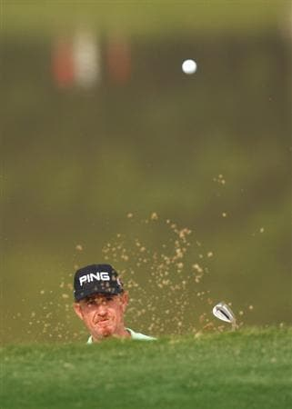 SHENZHEN, CHINA - NOVEMBER 26:  Miguel Angel Jimenez of Spain in action during the Pro - Am of the Omega Mission Hills World Cup at the Mission Hills Resort on November 26, 2008 in Shenzhen, China.  (Photo by Ian Walton/Getty Images)
