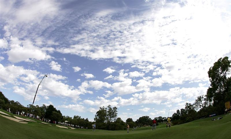 PERTH, AUSTRALIA - FEBRUARY 21:  A general view of play on the 4th hole during round three of the 2009 Johnnie Walker Classic at The Vines Resort and Country Club on February 21, 2009 in Perth, Australia.  (Photo by Paul Kane/Getty Images)