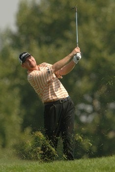 Troy Matteson in action during the third round of the 2005 Mark Christopher Charity Classic Presented by Adelphia at Empire Lakes Golf Course in Rancho Cucamonga, California September 17, 2005.Photo by Steve Grayson/WireImage.com