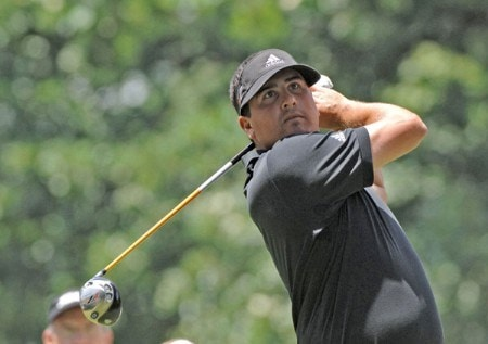 Pat Perez drives from the third tee during the final round of the Cialis Western Open at the Cog Hill Golf Club July 3, 2005 in Lemont, Illinois.Photo by Al Messerschmidt/WireImage.com