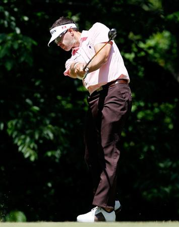 ATHENS, GA - APRIL 29:  Bobby MacWhinnie tees off the sixth hole during the first round of the 2010 Stadion Athens Classic at the University of Georgia Golf Course on April 29, 2010 in Athens, Georgia.  (Photo by Kevin C. Cox/Getty Images)