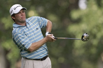 Robert Damron during the second round of the Cialis Western Open on the No. 4 Dubsdread course at Cog Hill Golf and Country Club in Lemont, Illinois on July 7, 2006.Photo by Michael Cohen/WireImage.com
