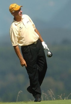 Bruce Fleisher in action during the second round of the 2005 Boeing Greater Seattle Classic at TPC at Snoqualmie Ridge in Snoqualmie, Washington August 20, 2005.Photo by Steve Grayson/WireImage.com