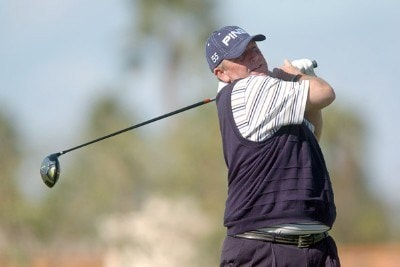 Mark Calcavecchia in action during the second round of the 2007 Bob Hope Chrysler Classic at Bermunda Dunes Country Club in Bermuda Dunes, California on January 18, 2007. PGA TOUR - 2007 Bob Hope Chrysler Classic - Second RoundPhoto by Steve Grayson/WireImage.com