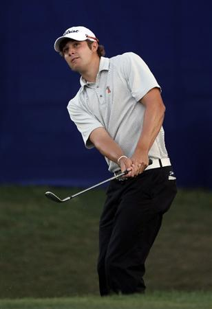 PALM HARBOR, FL - MARCH 18:  Peter Uihlein plays a shot during the second round of the Transitions Championship at Innisbrook Resort and Golf Club on March 18, 2011 in Palm Harbor, Florida.  (Photo by Sam Greenwood/Getty Images)