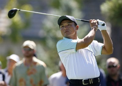 Shigeki Maruyama during the fourth and final round of the Reno Tahoe Open held at Montreux Golf and Country Club in Reno, Nevada, on August 27, 2006.Photo by Stan Badz/PGA TOUR/WireImage.com