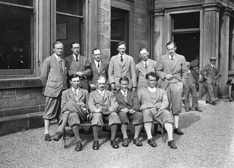 British team, 1923 Walker Cup
