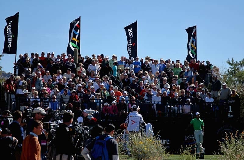 Fans at 2012 WGC-Accenture Match Play