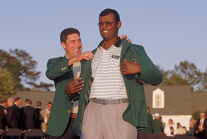 Vijay Singh and Jose Maria Olazabal
