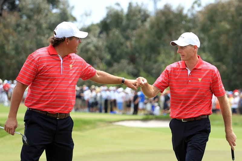 Phil Mickelson and Jim Furyk