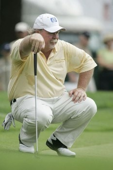 Craig Stadler during the second round of the 2005 Commerce Bank Championship at Eisenhower Park in East Meadow, New York on July 2, 2005.Photo by Michael Cohen/WireImage.com