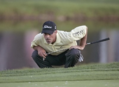 David Branshaw in action during the first round of the Bay Hill Invitational presented by MasterCard at the Bay Hill Club in Orlando, Florida on March 16, 2006.Photo by Michael Cohen/WireImage.com