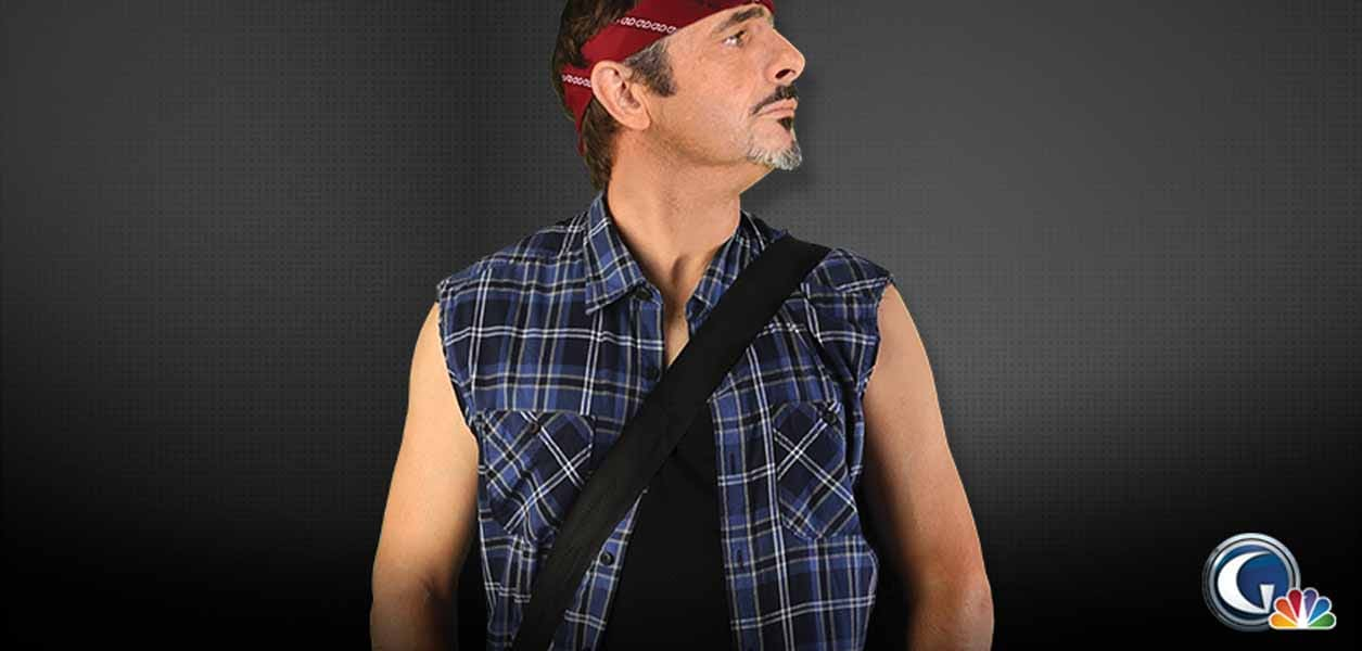 Feherty Dressed Up As Bruce Springsteen