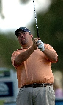 Kevin Stadler in action during the third round of the PGA's Tour 2005 Chrysler Classic of Tucson at the Omni Tucson National Golf Resort & Spa February 26, 2005 in Tuscon, Arizona.