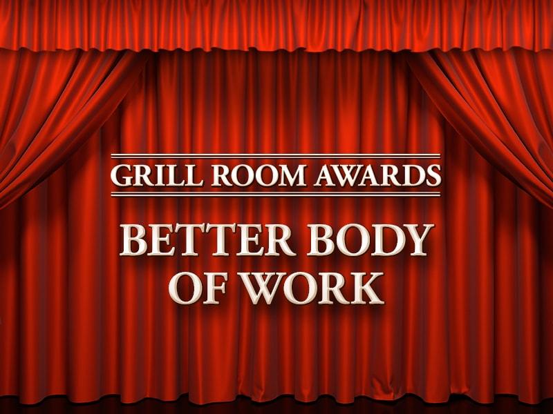 Grill Room Awards