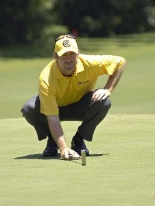 Rod Pampling during the third round of the Bank of America Colonial held at the Colonial Country Club on Saturday , May 20, 2006 in Ft. Worth, TexasPhoto by Marc Feldman/WireImage.com
