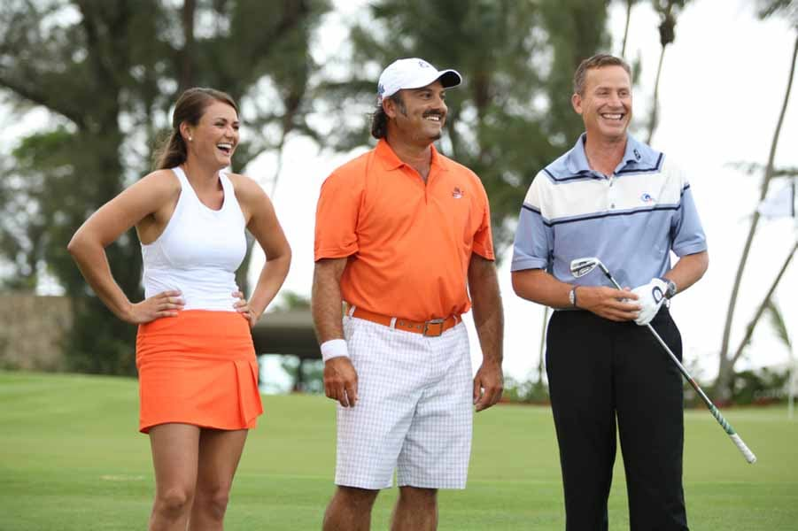 Stefanie Kenoyer; Oren Geri and Michael Breed