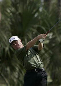 Jeff Sluman during the third and final round of the Merrill Lynch Shootout at the Tiburon Golf Club in Naples, Florida on November 12, 2006. PGA TOUR - 2006 Merrill Lynch Shootout - Final RoundPhoto by Michael Cohen/WireImage.com