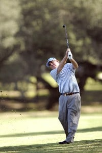 John Bland during the first round of the AT&T Championship at Oak Hills Country Club in San Antonio, Texas, on October 20, 2006. Champions Tour - 2006 AT&T Championship - First RoundPhoto by Steve Levin/WireImage.com