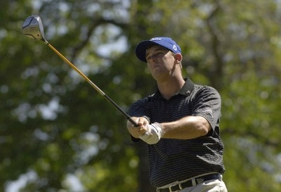 Darron Stiles during the fourth and final round of the Rheem Classic presented by Times Record held at Hardscrabble Country Club in Fort Smith, AR, on May 14, 2006.Photo by Steve Levin/WireImage.com